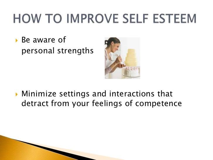 how to raise self esteem and confidence