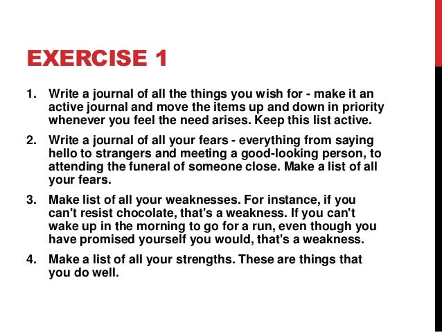 exercise and self confidence