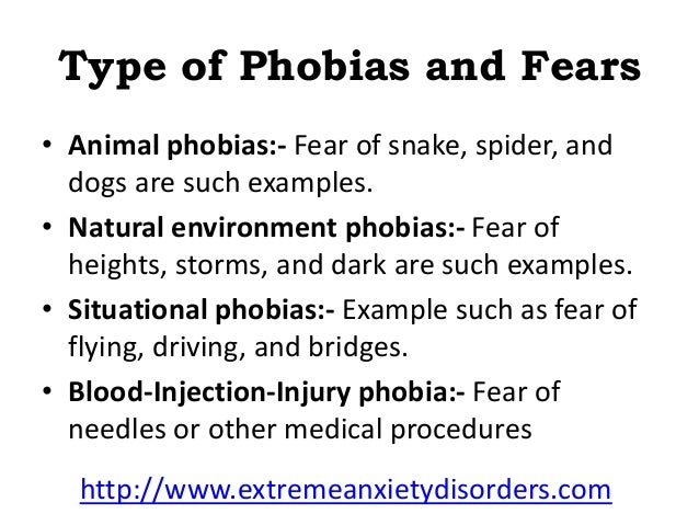 Phobias and Irrational Fears