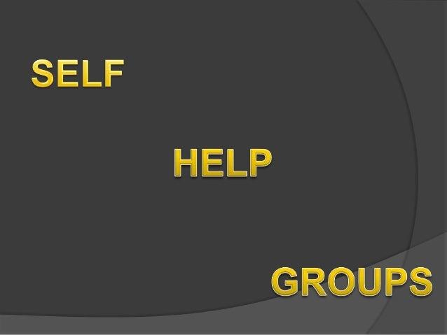 essays on self help groups