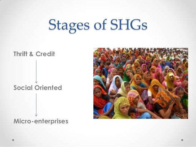 microfinance and self help group case study