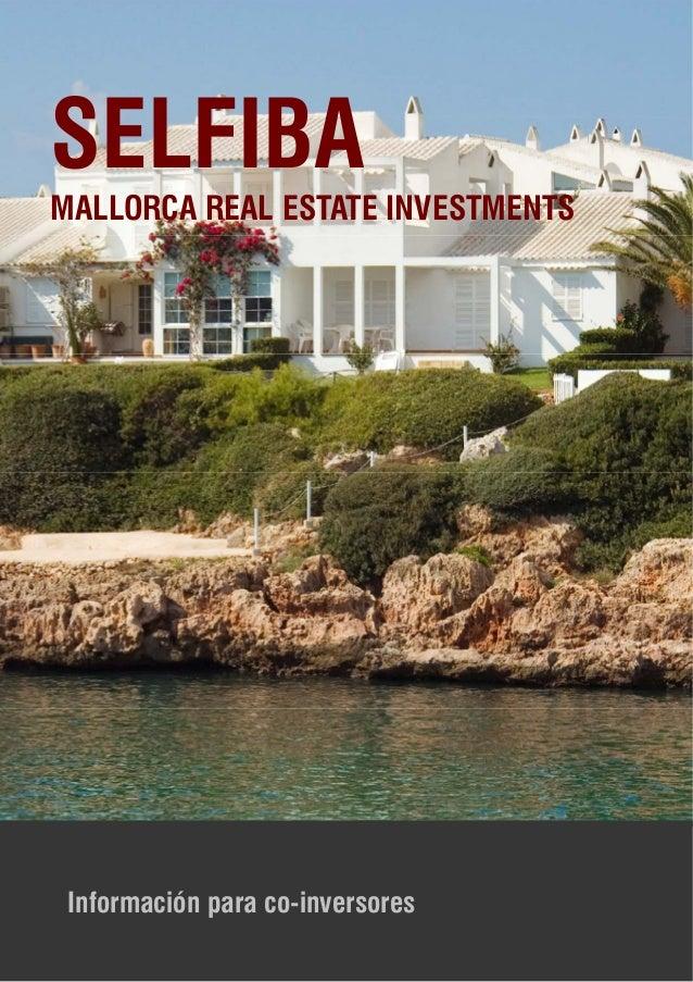 Selfiba real estate investments on mallorca spanish for Real estate mallorca