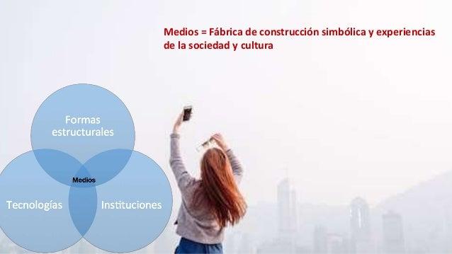 Medios = Fábrica de construcción simbólica y experiencias de la sociedad y cultura