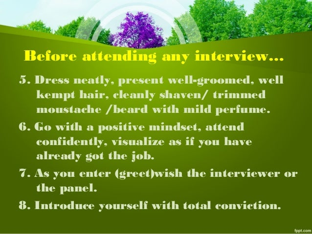 Self Introduction  U0026 Interview Tips