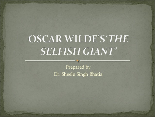 the selfish giant theme
