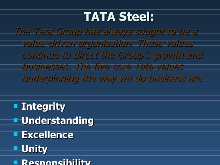 tata steel core competency Tata steel kalinganagar-contractor safety management system  tata steel identified six (6) core strategies:  organizational safety competency and capability.