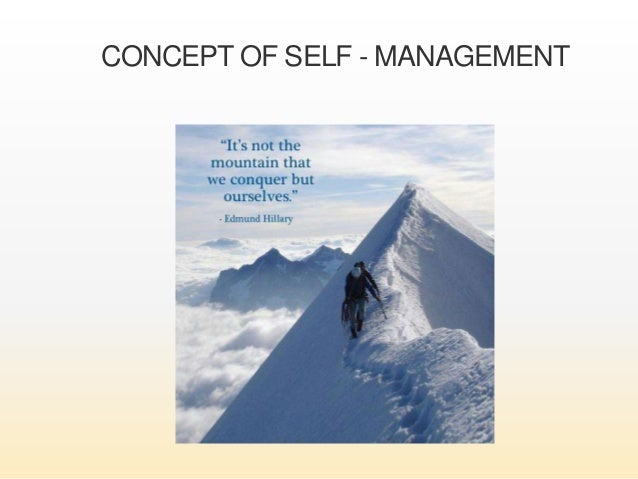 how to develop self management skills