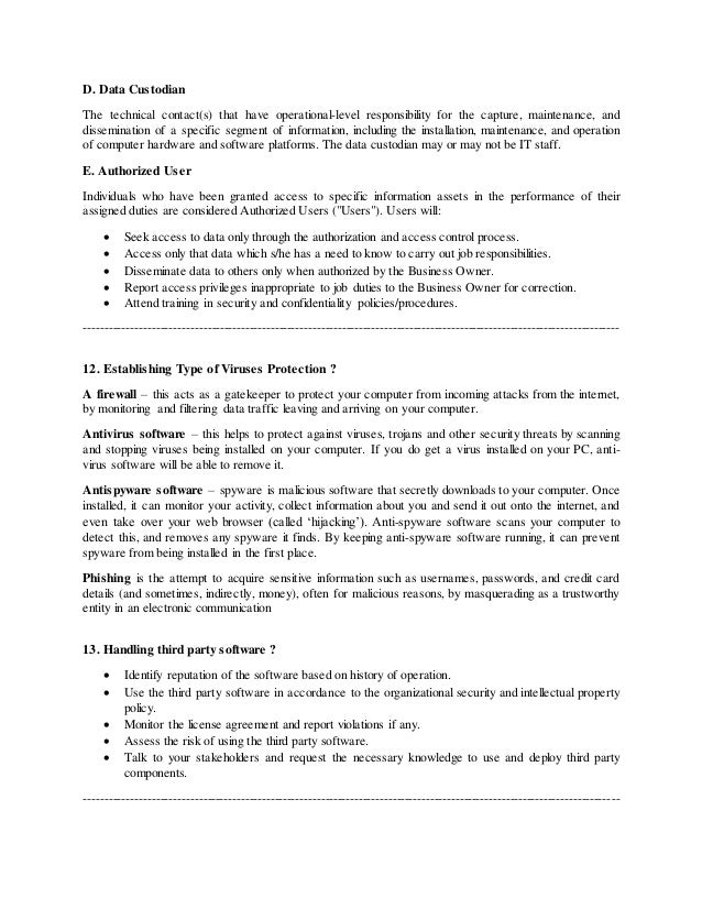 information system security policy template - business credit card use policy sample gallery card