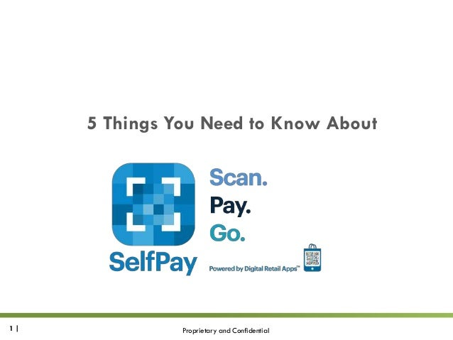 5 Things You Need to Know About  1|  Proprietary and Confidential