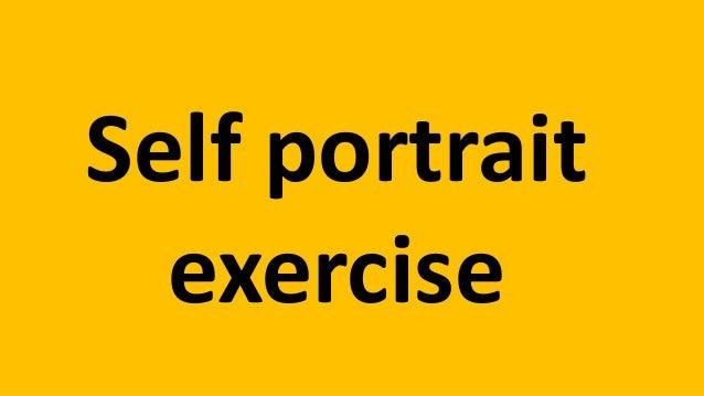 Self portrait  exercise