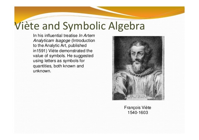 what is the history of algebra