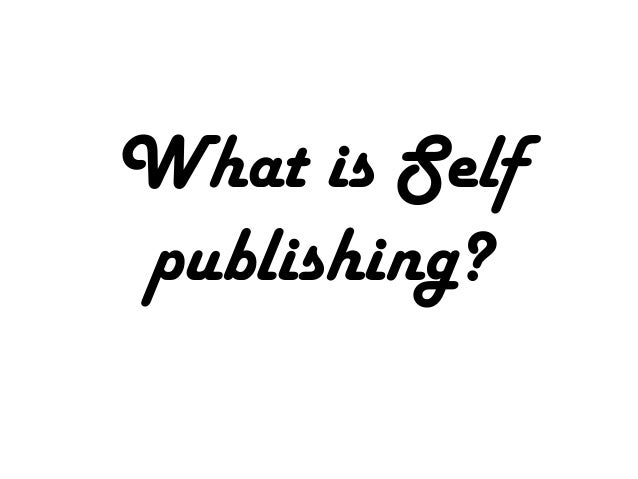 What is Selfpublishing?