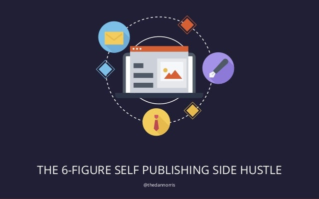 @thedannorris THE 6-FIGURE SELF PUBLISHING SIDE HUSTLE