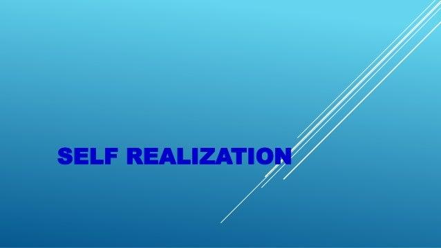 self realization. Black Bedroom Furniture Sets. Home Design Ideas