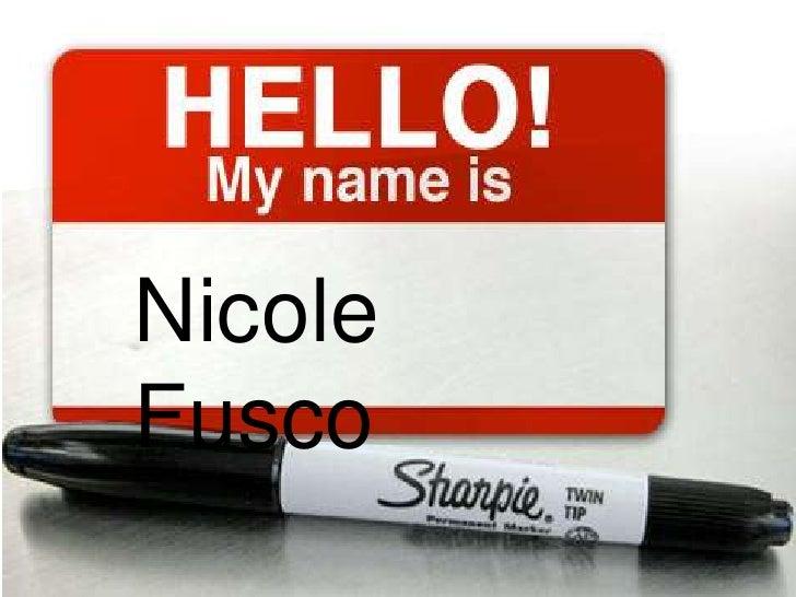 Nicole Fusco<br />