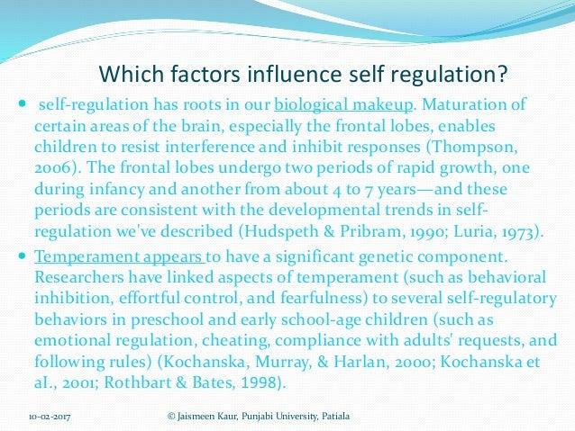 Motivation - Self-regulated Learning - Regulation ...