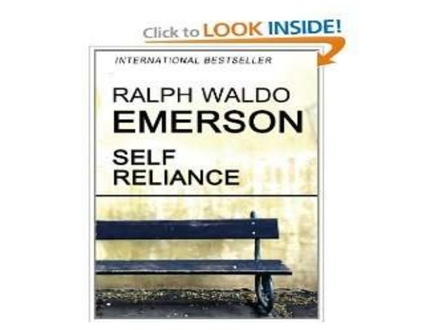 Introducing the concept : self-reliance