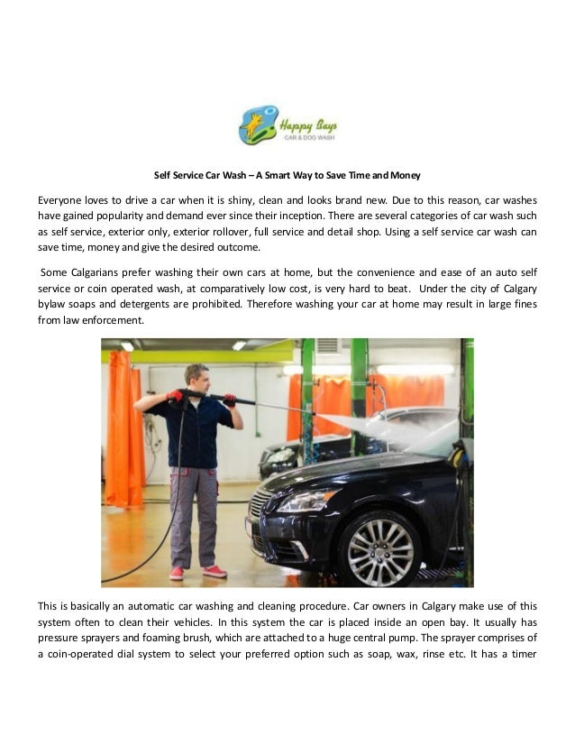 Self Service Car Wash A Smart Way To Save Time And Money