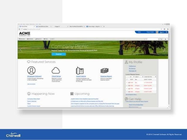 it self service portal examples