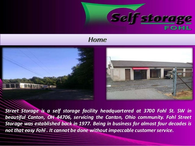 Street Storage Is A Self Storage Facility Headquartered At 3700 Fohl St. SW  In Beautiful ...