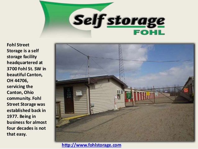 Bon Fohl Street Storage Is A Self Storage Facility Headquartered At 3700 Fohl  St. SW In ...