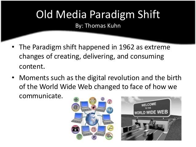 Paradigm Shift Essays (Examples)