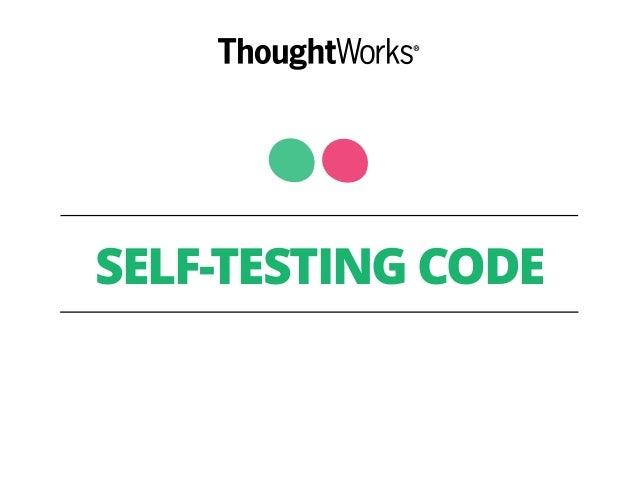 self testing