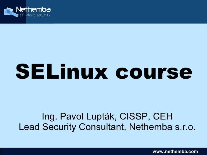 Se linux course1