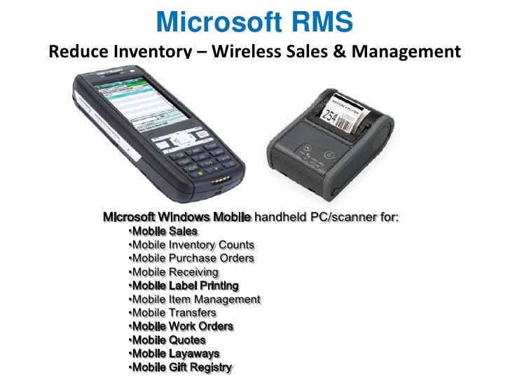 Microsoft dynamics rms