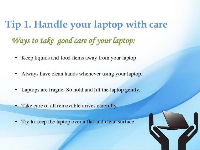 Tips to Increase Laptop's Lifespan