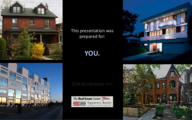 This presentation was prepared for:  YOU.  Click to continue >>>  SB