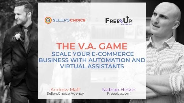 Nathan Hirsch FreeeUp.com Andrew Maff SellersChoice.Agency