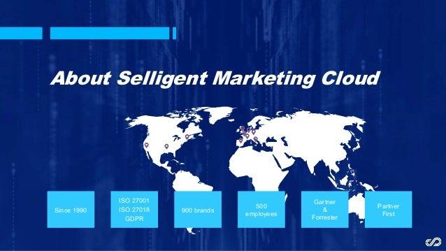 Selligent insurance (Marketing automation) Good Rebels Slide 2