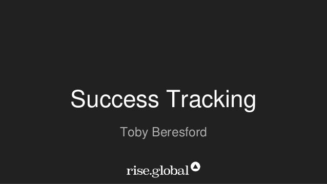 Success Tracking Toby Beresford