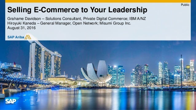 Grahame Davidson – Solutions Consultant, Private Digital Commerce; IBM A/NZ Hiroyuki Kaneda – General Manager, Open Networ...
