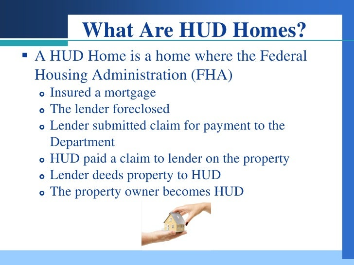 Hud Field Service Management : Selling hud reo s