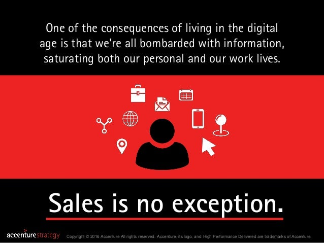 Selling in the Age of Distraction – Accenture Strategy Slide 2