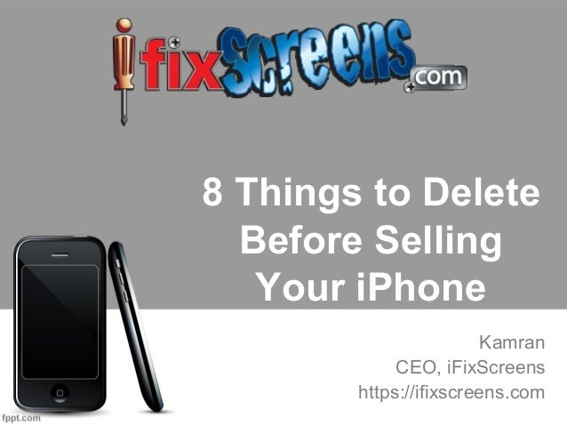 how to clear iphone to sell 8 things to delete before selling your iphoneselling 18670