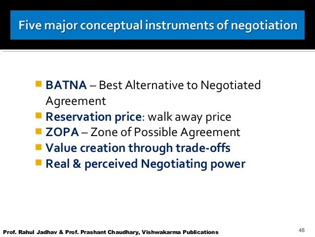 batna reservation price Preparation is the key to successful negotiation what's the lowest price you'd accept for that if you focus on your batna or your reservation.
