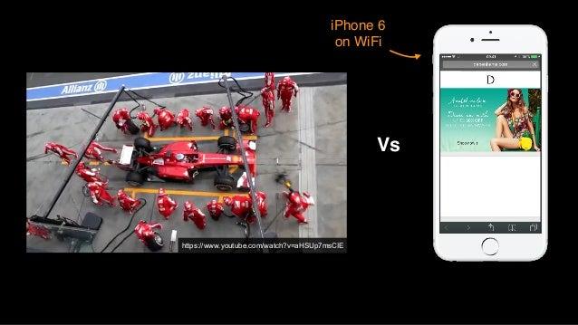 https://www.youtube.com/watch?v=aHSUp7msCIE Vs iPhone 6 on WiFi