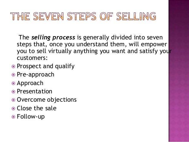 Selling process Slide 2