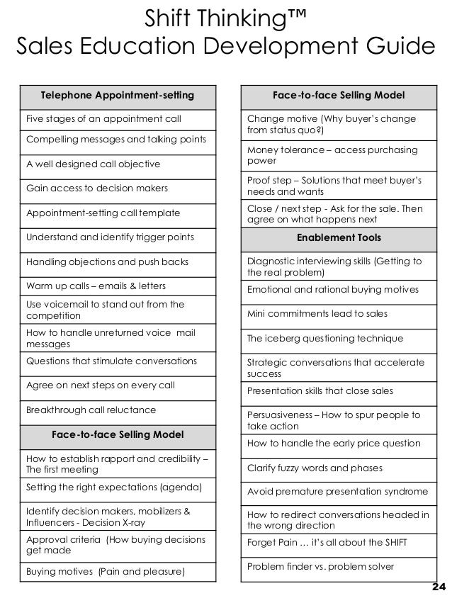 talking points template