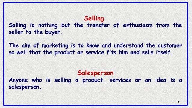 Selling skills and customer satisfaction Slide 2