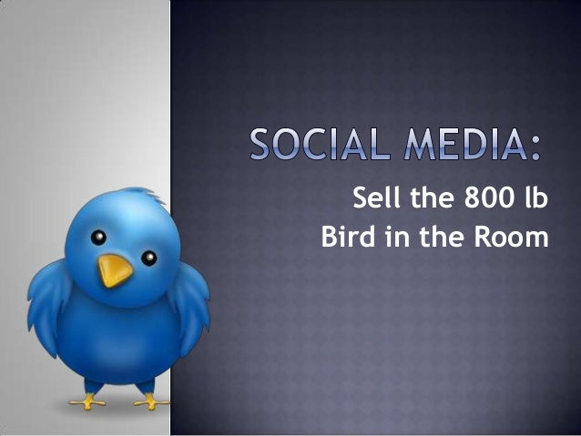 Sell the 800 lb Bird in the Room