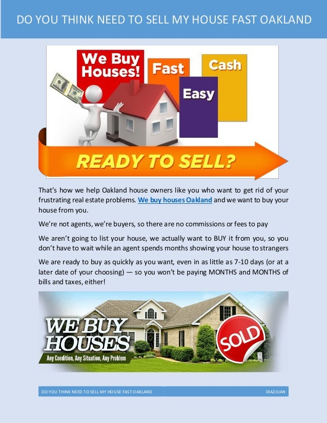 Flyers Want To Buy My House