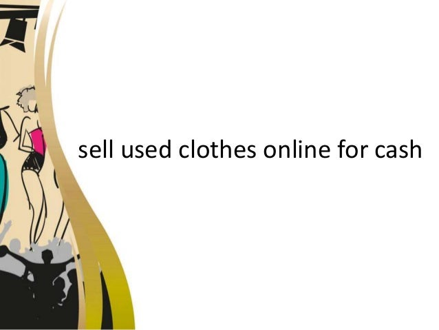 How to sell used clothing online