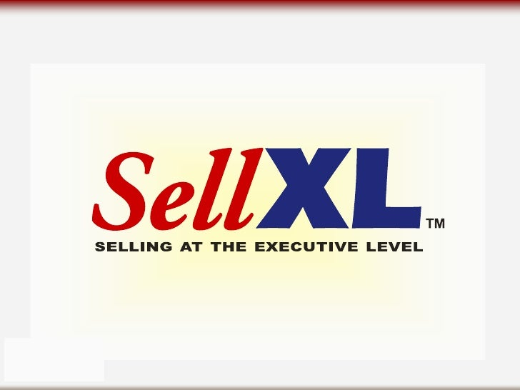 What is SellXL?  SellXL is a practical, high-energy, one- day workshop that helps professional salespeople establish, main...