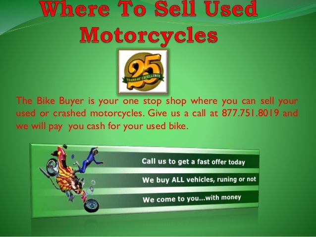 Sell My Motorcycle Online For Cash