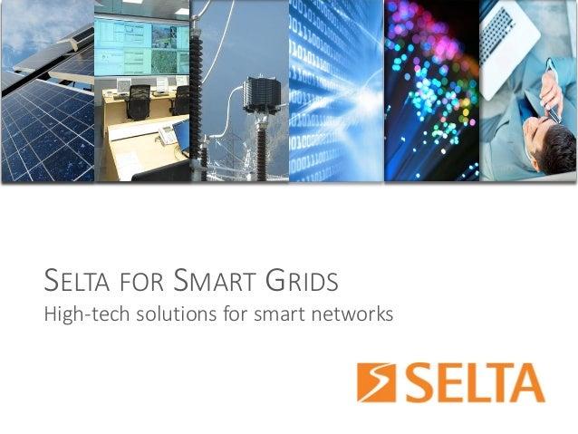 SELTAFORSMARTGRIDS  High-tech solutions for smart networks