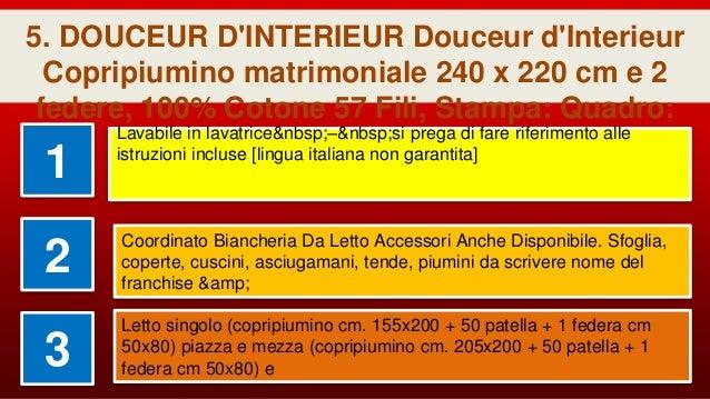 f0bb880c2d DOUCEUR D'INTERIEUR Douceur d'Interieur Copripiumino matrimoniale 240 x 220  cm e 2; 11.